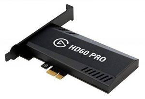Elgato Game Capture HD60 Pro - Diffusez et enregistrez en 1080p60, Technologie Hors Pair de Réduction de la Latence, H.264 Hardware-Encoding, PCIe de la marque Corsair image 0 produit