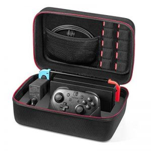 Etui pour Nintendo Switch - Younik Deluxe housse de transport à coque rigide pour Console Switch, Switch Dock, adaptateur secteur, câble HDMI, Manette Pro et 10 cartouches de jeu de la marque Younik image 0 produit