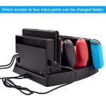 Expresstech @ Station de Charge Support de Chargeur Dock de Recharge avec Indicateur LED pour Nintendo Switch Joy-Con et Manette Switch Pro de la marque Expresstech image 4 produit