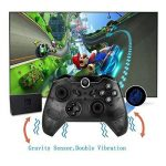 MallTEK Nintendo Switch Wireless Controller, Manette Sans fil pour Nintendo Switch Gamepad Joystick avec Gyro Axis Dual Shock Vibration Wireless Gamepad Controller Manette pour Nintendo Switch Support Smash Bros. / Star Allies / Zelda / Mario Odyssey etc. image 3 produit
