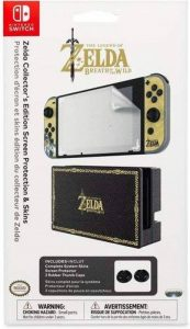 PDP Zelda Collector Edition Screen Protection & Skin Kit de Protection Console Compatible Nintendo Switch de la marque PDP image 0 produit