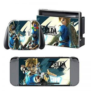 THTB Nintendo Switch + Controller Design Sticker Protector Set - Zelda (4)/Switch de la marque THTB image 0 produit