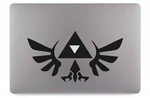 "Zelda Logo Symbol Groß Apple MacBook Air Pro Aufkleber Skin Decal Sticker Vinyl (13"") de la marque PixlFactory image 0 produit"